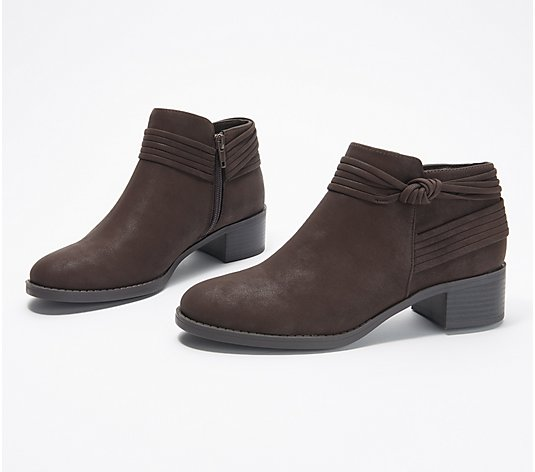 Easy Street Knot Ankle Boots - Wylie
