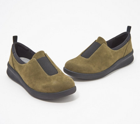 """As Is"" CLOUDSTEPPERS by Clarks Slip- On Shoes - Sillian 2.0"