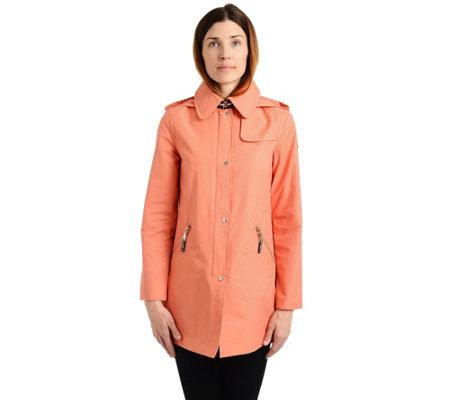 Vince Camuto Cotton Raincoat