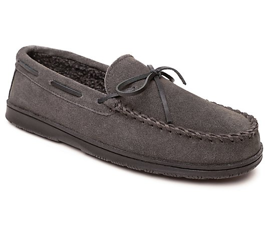 Sperry Men's Suede Slip-On Slippers -Trapper Moc