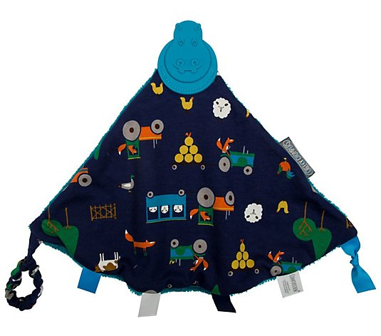 Cheeky Chompers Farm 2-in-1 Teether and SensoryBlanket