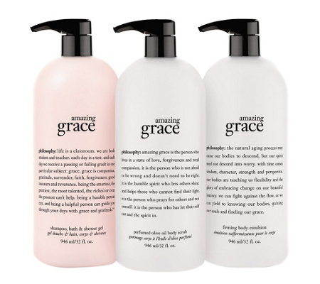 philosophy super-size all things grace trio Auto-Delivery