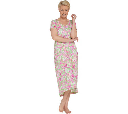 Stan Herman Spring Bloom Hi-Low Dress