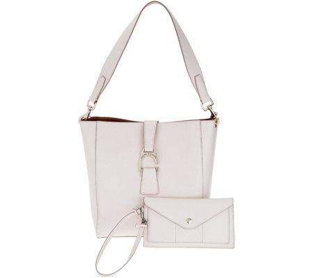 Dooney   Bourke Saffiano Leather Shoulder Bag - Ashby - Page 1 — QVC.com e5e3671f6c50e