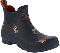 Joules Pull On Rain Boots - Wellibob - A305257