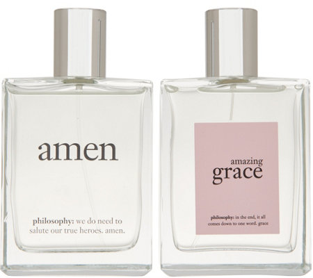 philosophy super-size amen & grace his and hers fragrance duo