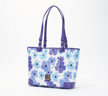 Dooney Bourke Coated Cotton Small Leisure Shopper