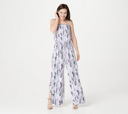 Du Jour Regular Printed Knit Jumpsuit