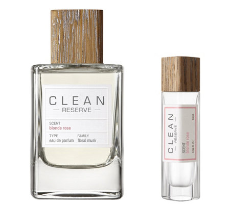 Clean Reserve Blonde Rose Edp And Pen Spray Duo