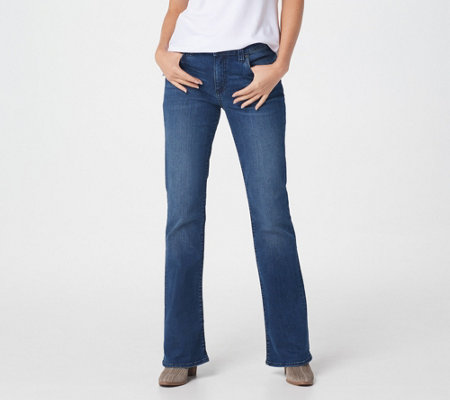 KUT from the Kloth Natalie High-Rise Boot-Cut Jeans