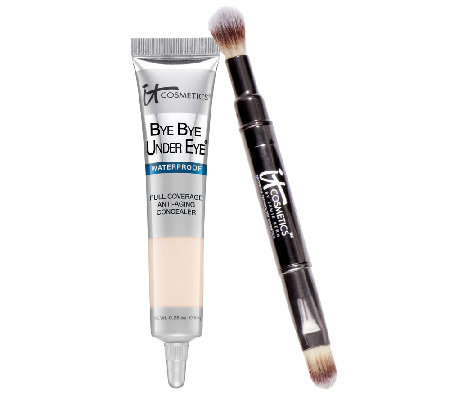 IT Cosmetics Waterproof Bye Bye Under Eye Concealer with Brush