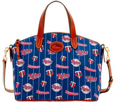 Dooney & Bourke MLB Nylon Twins Small Satchel