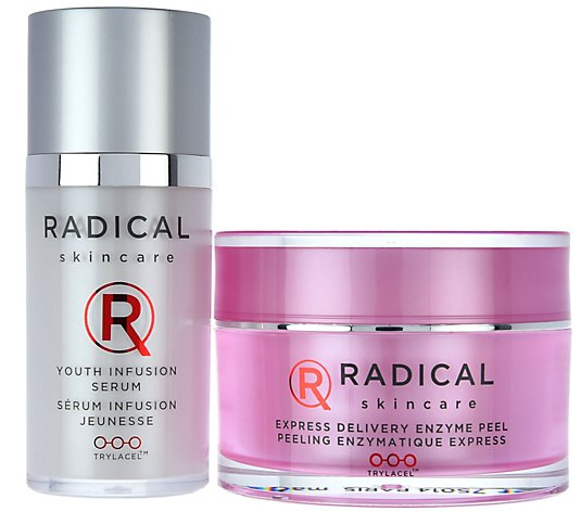 Radical Skincare Enzyme Peel & Travel Size Youth Infusion
