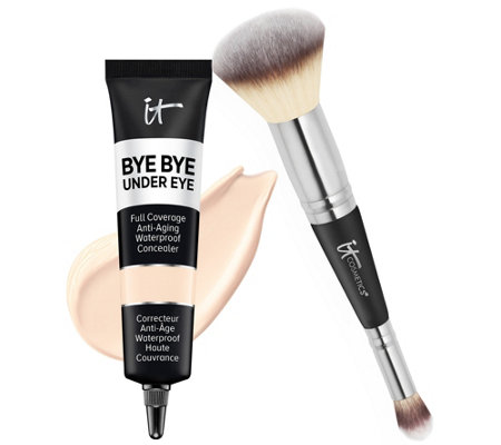 IT Cosmetics Supersize Bye Bye Under Eye Concealer with Luxe Brush