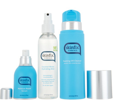 Skinfix Cleanser, Hydrating Mist, and Serum Collection
