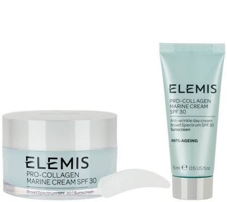 ELEMIS Pro-Collagen Marine Cream SPF 30 with Travel