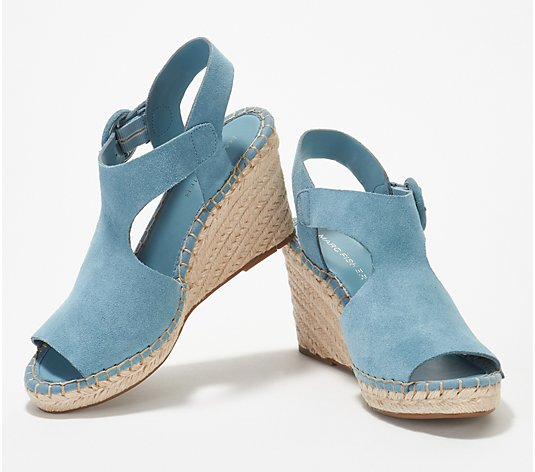 Marc Fisher Espadrille Wedge Sandals- Sakae
