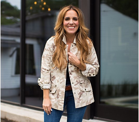 Rachel Hollis Ltd. Camo Jacket