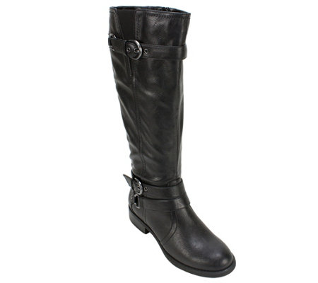 White Mountain Tall Shaft Boots - Loyal