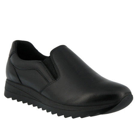 Flexus by Spring Step Leather Waterproof Loafers - Optimiza