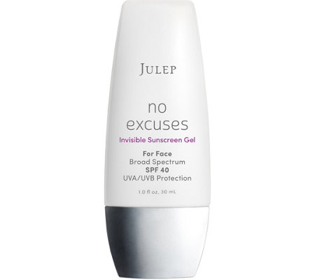 Julep No Excuses Invisible Sunscreen Gel