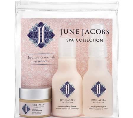 June Jacobs Hydrate & Nourish Essentals Kit