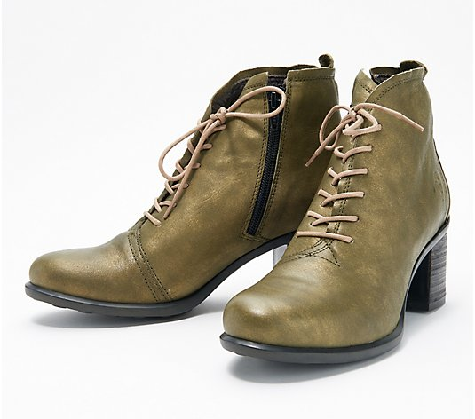 FLY London Lace-up Ankle Boots - Inet