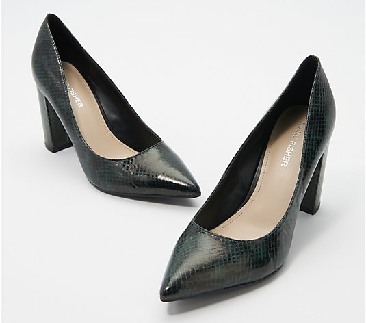 Marc Fisher Suede or Animal-Print Pumps - Gildy