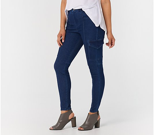 Legacy Denim & Twill Cargo Leggings