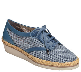 Aerosoles Casual Fabric Sneakers - River Side