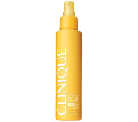 Clinique SPF 30 Sunscreen Virtu-Oil Body Mist,4.9 fl oz.