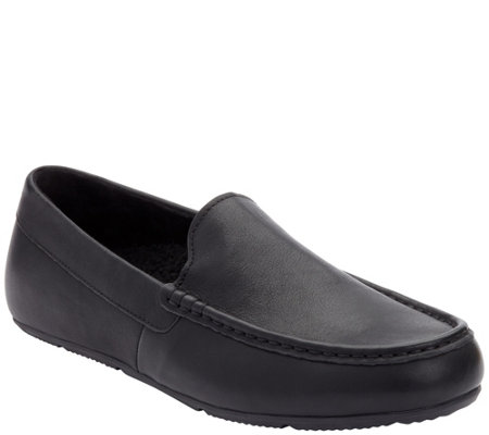 Vionic Men's Leather or Suede Slippers - Borough Tompkin