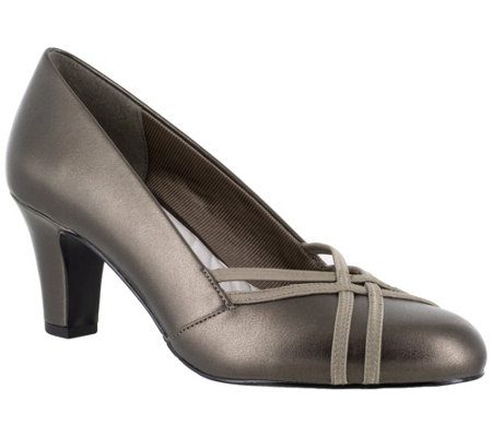 Easy Street Cross-Band Pumps - Orlene
