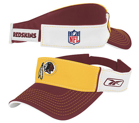NFL Washington Redskins Pre-Season Coaches Visor — QVC.com 2f631099fd7