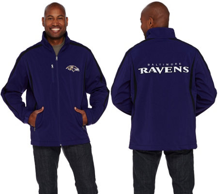NFL Soft Shell Bonded Jacket with Fleece Lining