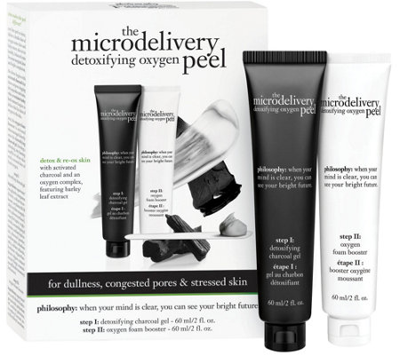 philosophy microdelivery detoxifying oxygen peel Auto-Delivery