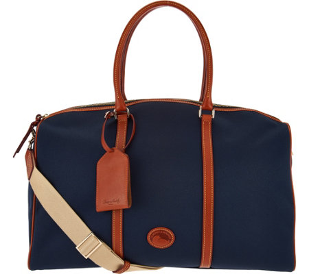 """As Is"" Dooney & Bourke Getaway Carry All Travel Bag"