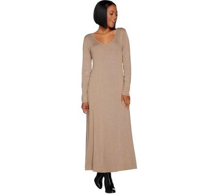 Linea By Louis Dell Olio Petite Whisper Knit Swing Dress