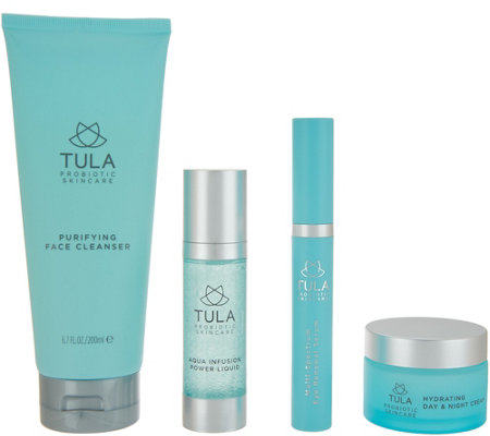 TULA by Dr. Raj Antiaging 4-Piece Face & Eye Essentials