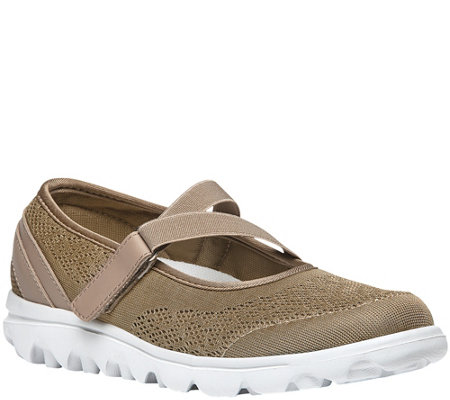 Propet Mesh Sneakers - TravelActiv Mary Jane