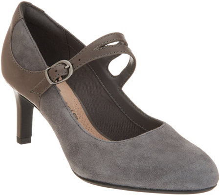 Clarks Collection Suede Pumps  - Dancer Reese
