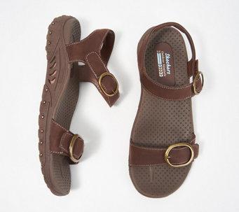 Skechers Buckle Ankle Strap Sport Sandals - Reggae - A349859 628d1f87b