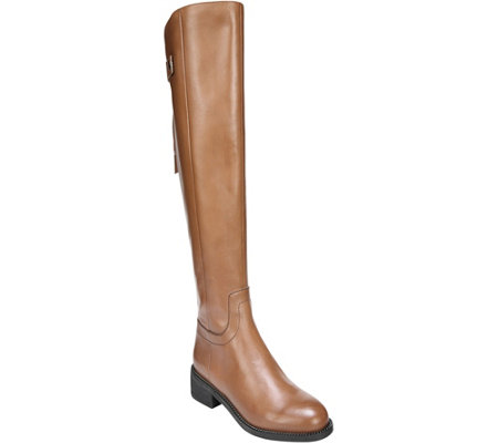 Franco Sarto Tall Leather Riding Boots - Brindley