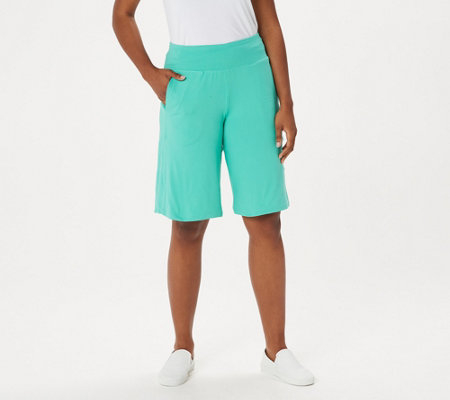 """As Is"" Cuddl Duds Flexwear Long Shorts"
