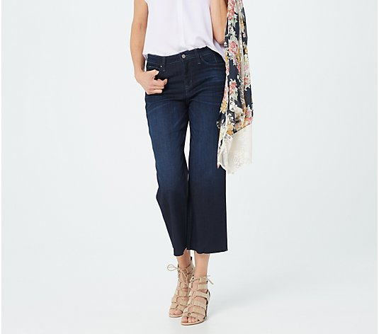 Laurie Felt Regular Daisy Denim Wide Leg Crop Jeans