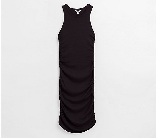 Splendid Ribbed Tank Dress - Delta