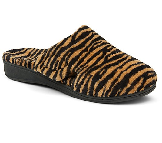 Vionic Slip-On Slippers - Gemma Tiger