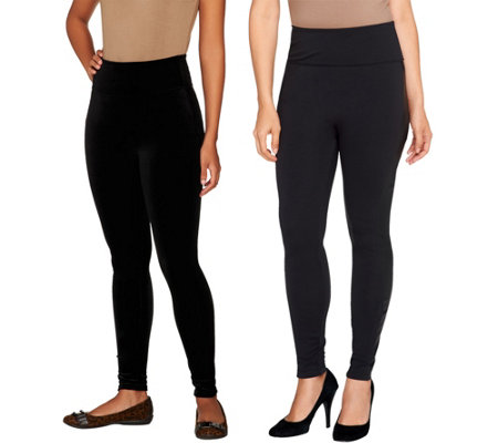 ea66a03c0f912 Assets Red Hot Label by Spanx Shaping Leggings — QVC.com