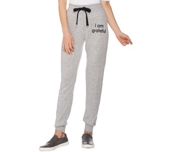 Peace Love World Comfy Knit Jogger Pants A