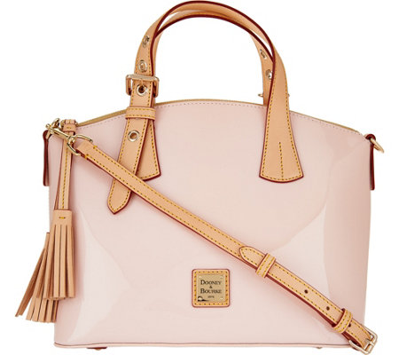 Dooney & Bourke Patent Leather Trina Satchel